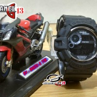 Jam Tangan Sporty Pria / Cowok GW-9300 Mudman Black