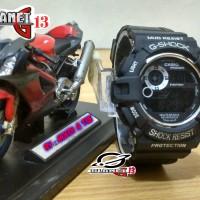 Jam Tangan Sporty Pria / Cowok GW-9300 Mudman Black White