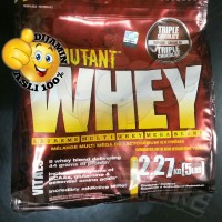 NEW STOCK - Mutant Whey TRIPLE CHOCOLATE 5 Lb Lbs 5Lb 5lbs BPOM AOM