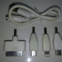 Kabel Powerbank 4 in 1 Cable Charger Power Bank 4in1 Nokia Mini, Micro