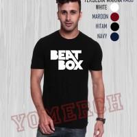 KEREN BAJU Kaos Distro BEATBOX BEAT BOX YM01