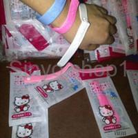 Jual terlaris Gelang anti nyamuk hello kitty wristband bugslock anti seran Murah