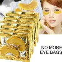 Masker Kantung Mata Crystal Collagen Gold/ Eye Bag Mask Eyemask