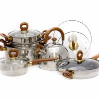 Jual Vicenza panci set cookware V812 Murah