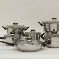 Jual Panci set Vicenza V612 - stainless cookware V-612 Murah