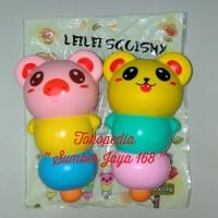 "Squishy Licensed Dango Animal Cartoon Toy "" LEI - LEI """