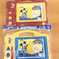 Jual M110 Papan Tulis Magnet / Magnetis Anak Disney Mickey Mouse PREMIUM Murah
