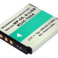 Baterai Kamera Pentax D-LI68 Fujifilm NP-50 NP-50A Kodak KLIC-7004 OEM