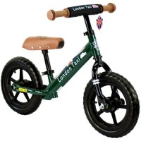 Sepeda Balance Bike - London Taxi - Kick Bike (Green)