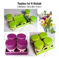 Toples Vinyl / Toples Lebaran Kotak/Long Isi 4