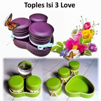 Toples Vinyl / Toples Lebaran Love/Long Isi 3