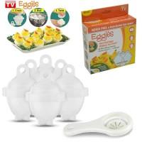 Jual Eggies(Alat Pencetak Telur)/ Alat Perebus Telur/ Alat Pemecah Telur Murah