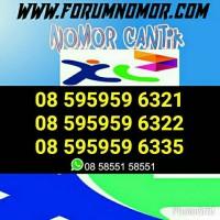 Nomor Cantik XL Seri Triple 595959 Hoki #Nomor Center/Murah