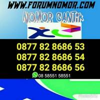 Nomor Cantik XL 4G Seri Double AB 82 8686 Super Hoki/Nomor Center/YB9