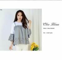 Grosir Baju Atasan Muslim Wanita Murah Dan Terbaru / Olive Blouse Pr01