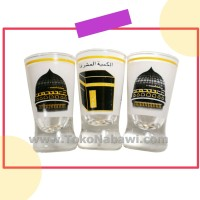 Gelas Air Zam Zam Kabah (Isi 6 pcs) / Gelas Haji dan Umroh