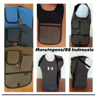Shoulder Bag tas gadget pundak anti maling thief FBI Style (standart)