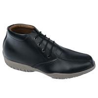 Sepatu Pria Casual Sintetis Hitam Raindoz RAG 4816
