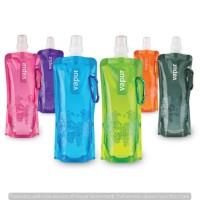 Jual Botol air minum lipat Vapur anti tumpah foldable bottle Murah