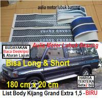 harga Sticker List Body Samping Toyota Kijang Grand Extra 1,5 - Biru (set) Tokopedia.com