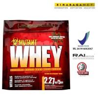 Whey Mutant 5Lb Chocolate/ Meningkatkan massa otot + pemulihan otot