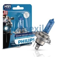 Philips Diamond Vision Moto HS1 12V 35/35W 5000K (Lampu Motor Putih)