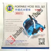 harga Semprotan Air Taman + Selang 15m / Portable Hose Reel Set C-mart Tokopedia.com