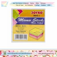 Kertas Memo Pelekat Tempel 3M Post It Joyko Memo Stick MMS-1