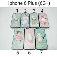 Jual Squishy Case Iphone 6 Plus /Softsheel Embos Karakter Iphone 6G+ Murah