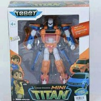 MAINAN TOBOT X DAN Y RYAN AND KORY 2 CARS COMBINE TO THE TITAN