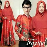 baju couple untuk kondangan/ batik couple/ nagita couple b237