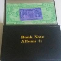 ALBUM UANG Kertas Pocket ( Tidak Dapat di refill )