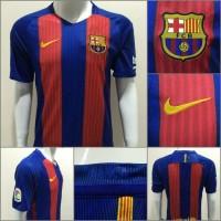 Jersey Barcelona Barca Home 16/17 Tanpa Sponsor