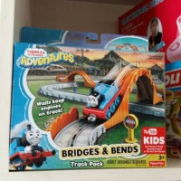 Thomas and Friends adventure bridges and bends track pack