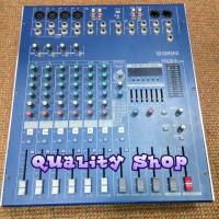 Power mixer yamaha mg8-4 usb 8 channel 900 watt