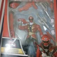 bandai saban's armored super mega red ranger