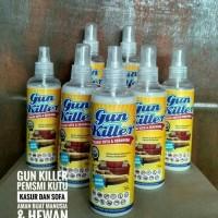 Jual GUN KILLER OBAT PEMBASMI KUTU KASUR DAN SOFA,SEMPROTAN KUTU Murah