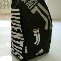 Tas Sepatu Bola Juventus Black 2018