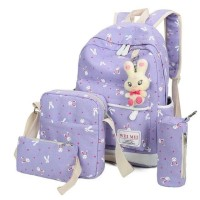 backpack set school playboy