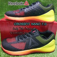 Sepatu REEBOK CROSSFIT NANO, Vitamin C/Yellow/Black/Lead