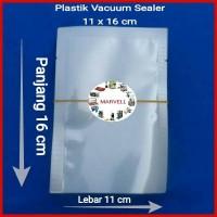 Plastik Vacuum 11x16 cm, Vacum Bag Plastic Vakum Sealer 100 lembar
