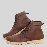 Jual Sepatu Boot Pria Adabos Crypton Safety/ Sepatu Boots/ Kickers/ Nike Murah