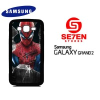 Casing HP Samsung Grand 2 Spiderman4 Custom Hardcase