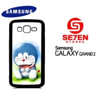 Casing HP Samsung Grand 2 Doraemon wallpaper Custom Hardcase
