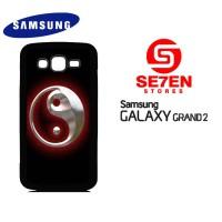 Casing HP Samsung Grand 2 Yin Yang Custom Hardcase
