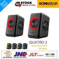 Speaker - Sonic Gear Quatro 2 - Power USB For PC N Laptop