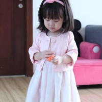 (#C543) Pink Party Bolero Baby Girl by King Kid