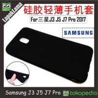 Case Slim Black Matte Samsung Galaxy J3 J5 J7 Pro 17 / 2017 J330 J550