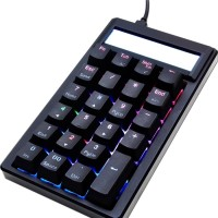 Ducky Pocket DKPO1623ST-BUSPDAAT1 Numpad, Black Frame,Brown Switch,RGB