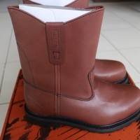 Red Wing Shoes Safety WORX 9227 Men 9inch Pull-On Boot Brown